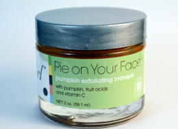 Pie on Your Face pumpkin exfoliating masque