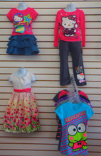 New Hello Kitty Girls clothing $3.99 unit!!!