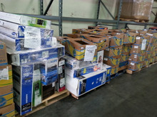 Department Store Electronics Truckload LCD TV's, Cell Phones, Blue Rays