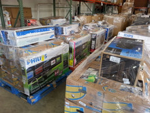 Electronics Pallets TV'S, HomeTheaters, Blue Rays, Cell Phones & more