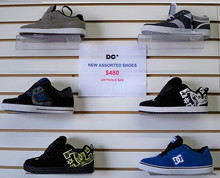 NEW ASSORTED DC SKATE SHOES!! $24.99