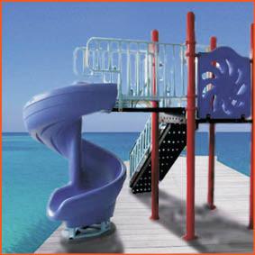 Swimming Pool Slide Classic Fun Park