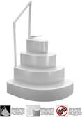 Modular Cake Step White