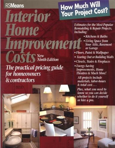 Interior home improvement costs 9th edition rsmeans co for Home improvement costs