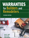 Warranties for Builders and Remodelers 2nd Edition - ISBN#9780867186338