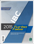 2015 IBC Turbo Tabs - Softcover - ISBN#9781609835262