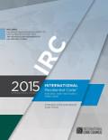 2015 International Residential Code (Looseleaf) - ISBN#9781609834692