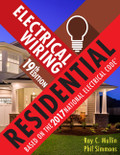 Electrical Wiring Residential 19th Edition - ISBN#9781337101837