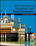 2015 International Residential Code Study Companion - ISBN#9781609835422