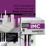 2015 International Mechanical Code Study Companion and Flash Card Set