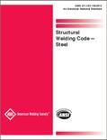 AWS D1.1/D1.1M:2015 Structural Welding Code - Steel - ISBN#9780871718648