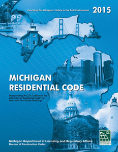 2015 Michigan Residential Code - ISBN#9471609832070