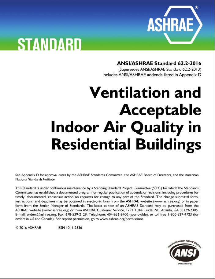 Ashrae 62 2 2016 ventilation and acceptable indoor air for Interior design and indoor air quality