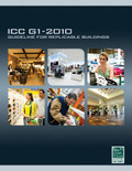 ICC G1-2010: Guideline for Replicable Buildings - ISBN#9781580018876