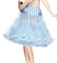 Hell Bunny Long Petticoat 62cm - Powder Blue