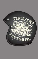 Lucky 13 Felon Garage Built Motorcycle Helmet