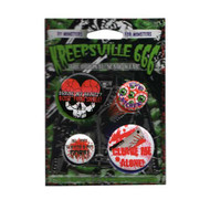 Kreepsville - Gore Badge Set