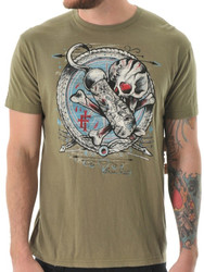 "Iron Fist ""Hooked Up"" Mens T-Shirt - Fatigue"