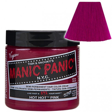 Trash Monkey ** Hot Hot Pink Hair Dye Manic Panic