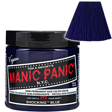 Trash Monkey ** Shocking Blue Classic Hair Dye Manic Panic Colour