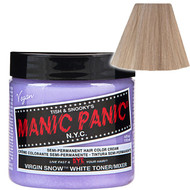 Trash Monkey ** Virgin Snow Classic Hair (White Toner) Manic Panic
