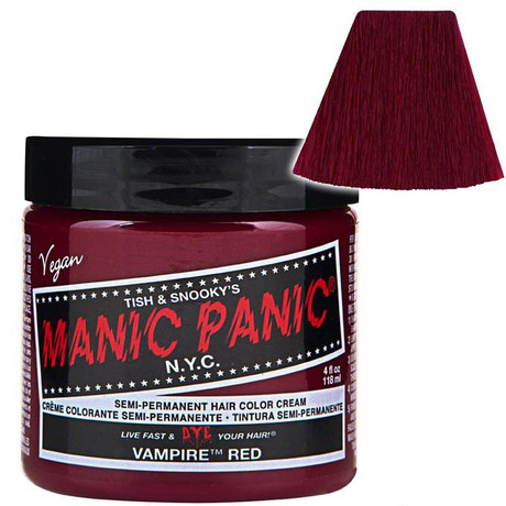 Trash Monkey ** Vampire Red Hair Dye Manic Panic Colour