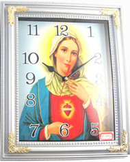 VIRGIN MARY Clock