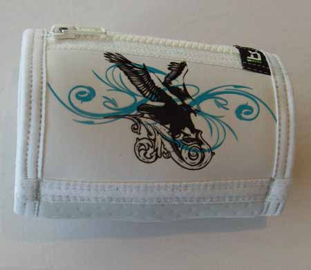 Trash Monkey** ITZ Arm Wallet Perching Eagle - White