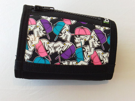 Trash Monkey** ITZ Arm Wallet Skully - Black