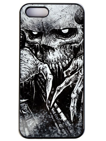 "Trash Monkey ** DISTURBIA - ""Creep"" iPhone Case God Machine Artwork phone case"