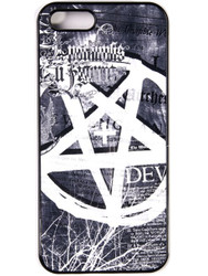 "Trash Monkey ** DISTURBIA - ""Pentagram"" iPhone Case"