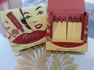 Trash Monkey ** Besame - Red Velvet & Red Hot Red Matchbook Lipstick