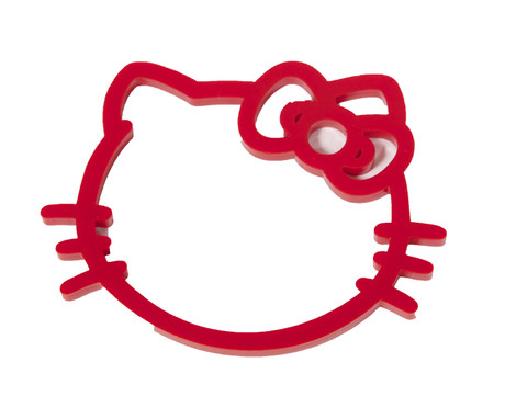 Trash Monkey ** Hello Kitty Head Bangle - Red