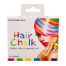 Trash Monkey ** Hair Chalk - Pack of 6  Colour your Hair in Minutes and clean it out in seconds! For the Good Gal... Who wants to live life in the Fast, Colourful Lane (... well, occassionally) Includes 6 colours for a range of styling options!