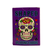 Trash Monkey ** Candy Skull Playing Cards  Full deck of Playing Cards in the funky shape of a Candy Skull!