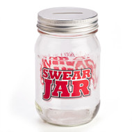 Trash Monkey ** Swearing Fines Mason Jar
