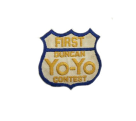 Trash Monkey ** Vintage First Duncan Yo-Yo Contest Patch