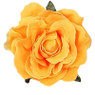 Trash Monkey ** Yellow Rose Flower Hair Clip