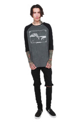 Trash Monkey ** Iron Fist - Enlightenment Raglan Tee