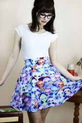 Alien Invasion Skirt