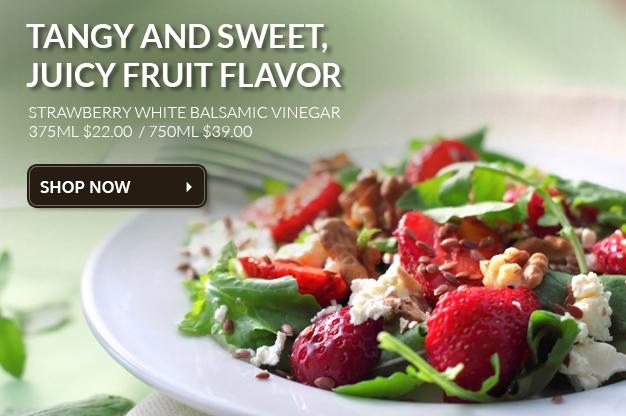 Strawberry White Balsamic Vinegar
