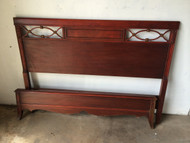 Antique Cherry Full Size Bed