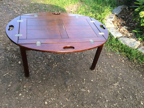 Bombay Company Mahogany Coffee Table Serving Tray Forgotten Furniture