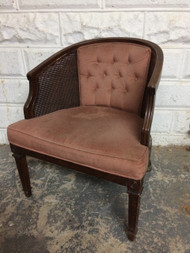 Rose Caned Club Chair