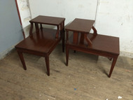 Pair of Mahogany Vintage End Tables