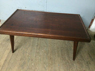 Vintage Modern Mahogany Coffee Table