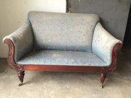 Antique Victorian Settee (2 matching pieces avail)