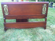 Antique Mahogany Full Size Bed