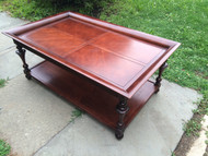 Cherry Tiered Coffee Table