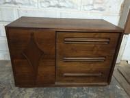 Mid Century Modern Small 6 Drawer Dresser